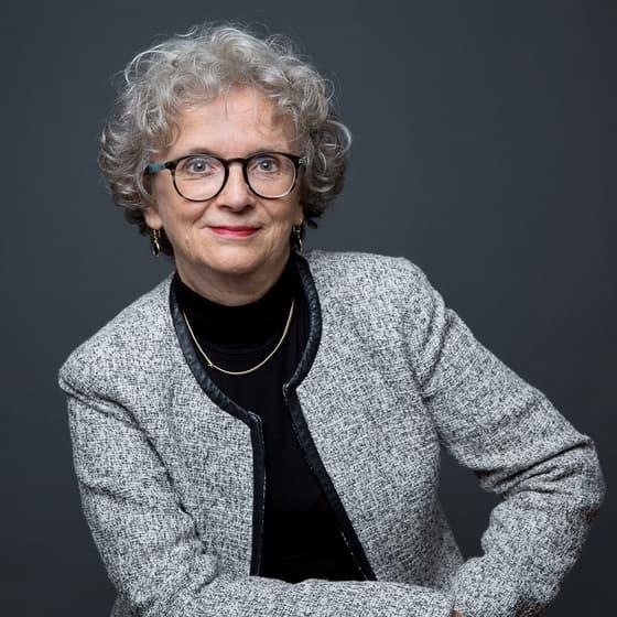 Retrato de Elisabeth Barbier, Directora general delegada del Instituto