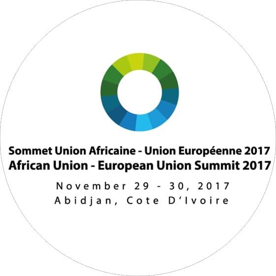 Logotipo de la Cumbre «Unión Africana / Unión Europea», Abidjan 2017
