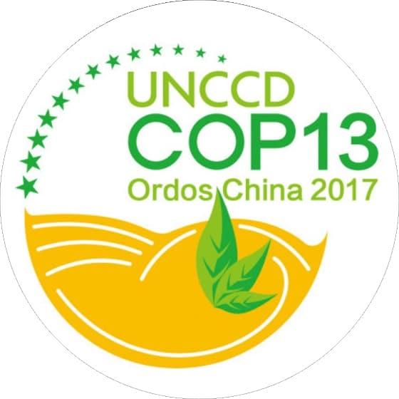 Logotipo de 2017 UNCCD COP13