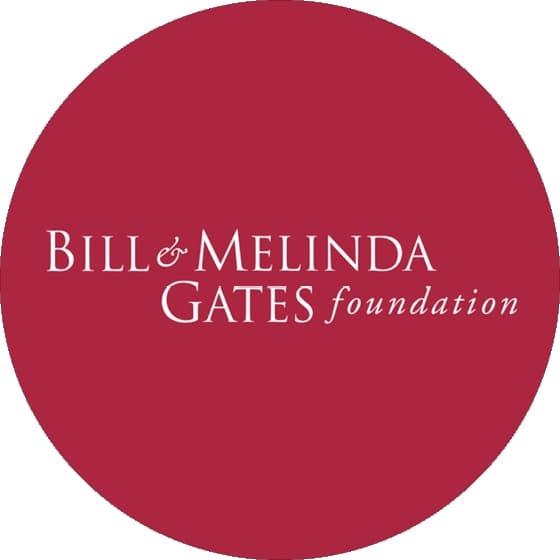 El logotipo de la fundación Bill & Melinda Gates