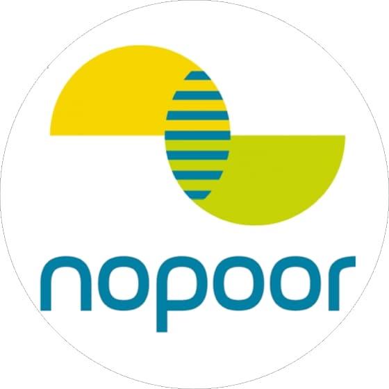 Logotipo del proyecto NOPOOR